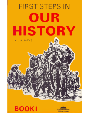 FIRST STEPS IN OUR HISTORY Book 1