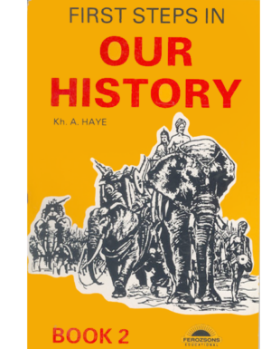 FIRST STEPS IN OUR HISTORY Book 2