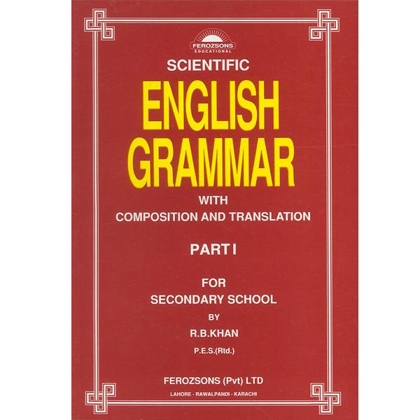 Scientific English Grammar Part I Ferozsons