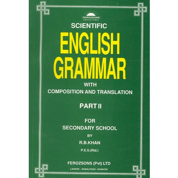 Scientific English Grammar Part Ii Ferozsons