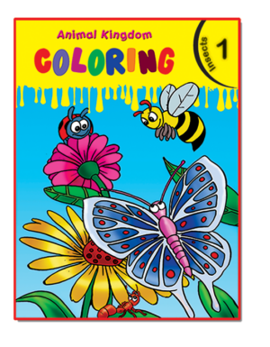 Animal Kingdom Coloring (Insects 1)