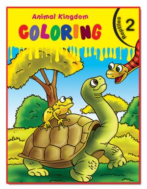 Animal Kingdom Coloring (Reptiles 2)