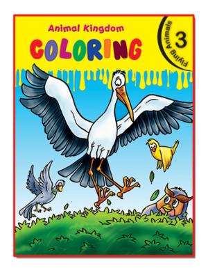 Animal Kingdom Coloring (Flying Animals 3)