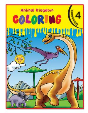 Animal Kingdom Coloring (Dinosaurs 4)
