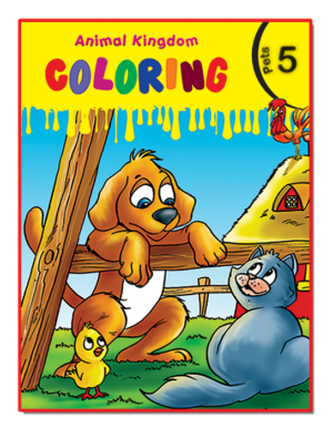 Animal Kingdom Coloring (Pets 5)