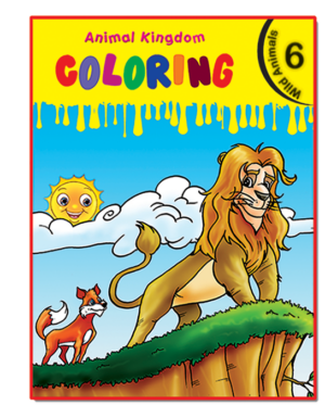Animal Kingdom Coloring (Wild Ainmals 6)