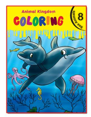 Animal Kingdom Coloring (Sea Animals 8)