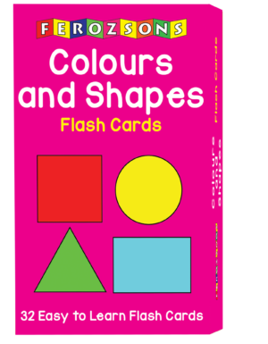 Colours and Shapes Flash Card