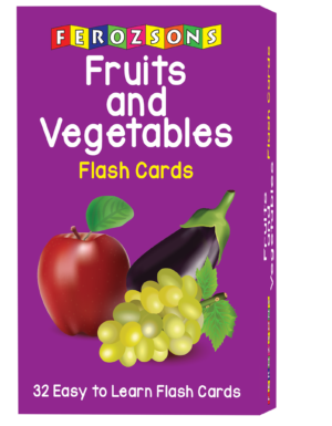 Fruits and Vegetables Flash Cards