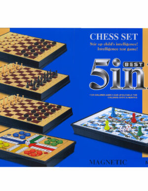 Best 5 In 1 Boards Games