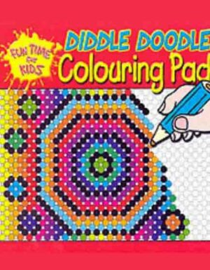 Diddle Doodle Pads: Red (Fun Time for Kids)
