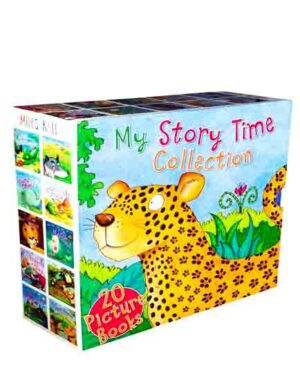 My Storytime Collection Box Set-This Charming Collection of Fairy Tales, Fables and Animal Stories contains 20 Palm-Sized Picture Books