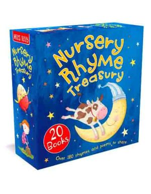 Nursery Rhyme Treasury Box Set 20 Books
